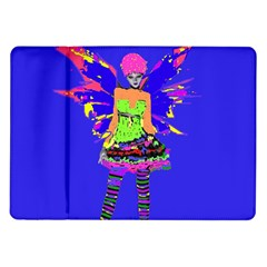 Fairy Punk Samsung Galaxy Tab 10 1  P7500 Flip Case by icarusismartdesigns