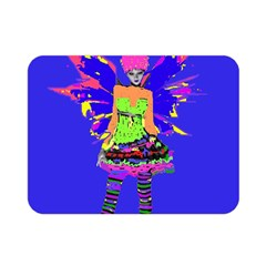 Fairy Punk Double Sided Flano Blanket (mini)  by icarusismartdesigns