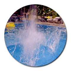 Splash 3 Round Mousepads by icarusismartdesigns