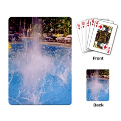 Splash 3 Playing Card by icarusismartdesigns