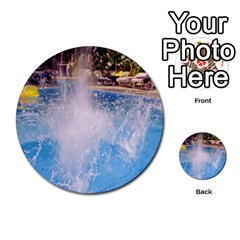 Splash 3 Multi Purpose Cards (round)  by icarusismartdesigns