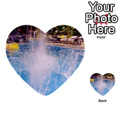 Splash 3 Multi Purpose Cards (heart)  by icarusismartdesigns