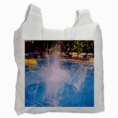 Splash 3 Recycle Bag (two Side)  by icarusismartdesigns