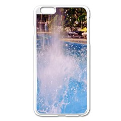 Splash 3 Apple Iphone 6 Plus Enamel White Case by icarusismartdesigns