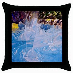 Splash 4 Throw Pillow Cases (black) by icarusismartdesigns