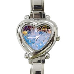 Splash 4 Heart Italian Charm Watch by icarusismartdesigns