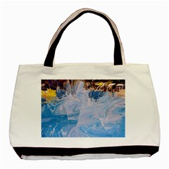 Splash 4 Basic Tote Bag  by icarusismartdesigns