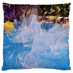 Splash 4 Large Flano Cushion Cases (two Sides)  by icarusismartdesigns