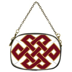 Buddhist Endless Knot Auspicious Symbol Chain Purse (one Side) by CrypticFragmentsColors