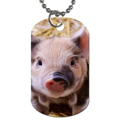 Sweet Piglet Dog Tag (one Side)