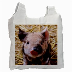 Sweet Piglet Recycle Bag (one Side)