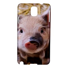 Sweet Piglet Samsung Galaxy Note 3 N9005 Hardshell Case by ImpressiveMoments