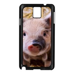 Sweet Piglet Samsung Galaxy Note 3 N9005 Case (black)