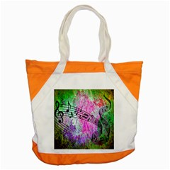Abstract Music  Accent Tote Bag