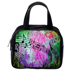 Abstract Music  Classic Handbags (one Side)