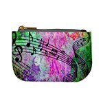 Abstract Music  Mini Coin Purses Front
