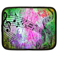 Abstract Music  Netbook Case (xxl)