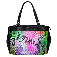 Abstract Music  Office Handbags (2 Sides)
