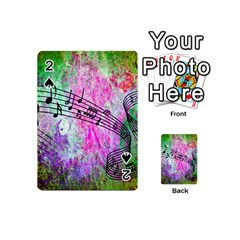 Abstract Music  Playing Cards 54 (mini)