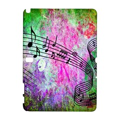 Abstract Music  Samsung Galaxy Note 10 1 (p600) Hardshell Case