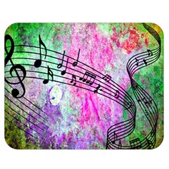 Abstract Music  Double Sided Flano Blanket (medium)