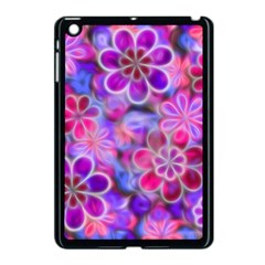 Pretty Floral Painting Apple Ipad Mini Case (black) by KirstenStar