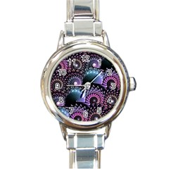 Stunning Sea Shells Round Italian Charm Watches by KirstenStar