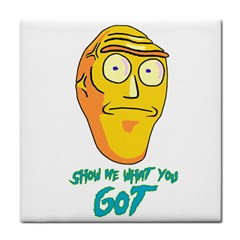 Show Me What You Got New Fresh Tile Coasters by kramcox