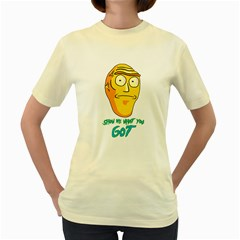 Show Me What You Got New Fresh Women s Yellow T Shirt by kramcox