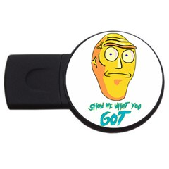 Show Me What You Got New Fresh Usb Flash Drive Round (4 Gb)