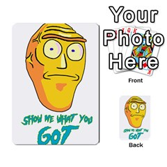 Show Me What You Got New Fresh Multi Purpose Cards (rectangle)  by kramcox