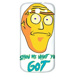 Show Me What You Got New Fresh Samsung Galaxy S3 S Iii Classic Hardshell Back Case by kramcox