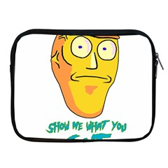 Show Me What You Got New Fresh Apple Ipad 2/3/4 Zipper Cases by kramcox