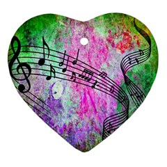 Abstract Music 2 Ornament (heart)