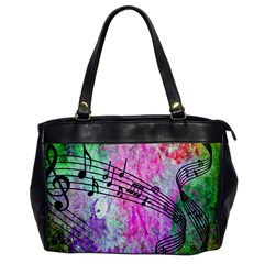 Abstract Music 2 Office Handbags by ImpressiveMoments