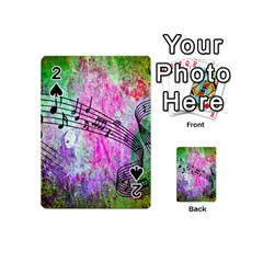 Abstract Music 2 Playing Cards 54 (mini)
