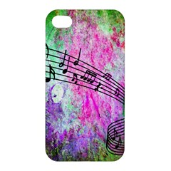 Abstract Music 2 Apple Iphone 4/4s Hardshell Case