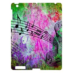 Abstract Music 2 Apple Ipad 3/4 Hardshell Case