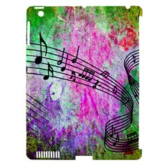 Abstract Music 2 Apple Ipad 3/4 Hardshell Case (compatible With Smart Cover)