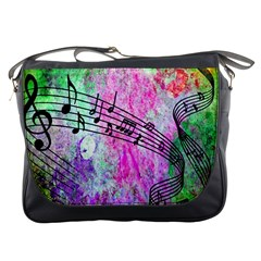 Abstract Music 2 Messenger Bags