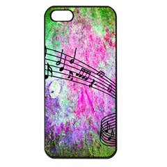 Abstract Music 2 Apple Iphone 5 Seamless Case (black) by ImpressiveMoments