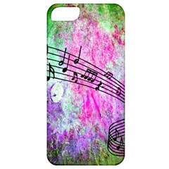 Abstract Music 2 Apple Iphone 5 Classic Hardshell Case