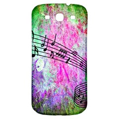 Abstract Music 2 Samsung Galaxy S3 S Iii Classic Hardshell Back Case