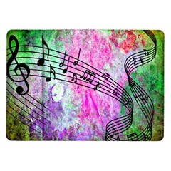 Abstract Music 2 Samsung Galaxy Tab 10 1  P7500 Flip Case