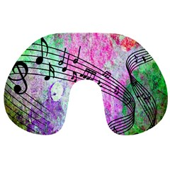 Abstract Music 2 Travel Neck Pillows