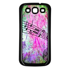 Abstract Music 2 Samsung Galaxy S3 Back Case (black)