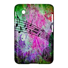 Abstract Music 2 Samsung Galaxy Tab 2 (7 ) P3100 Hardshell Case