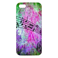 Abstract Music 2 Iphone 5s Premium Hardshell Case