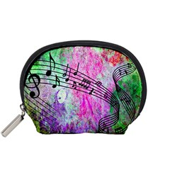 Abstract Music 2 Accessory Pouches (small)