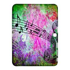 Abstract Music 2 Samsung Galaxy Tab 4 (10 1 ) Hardshell Case